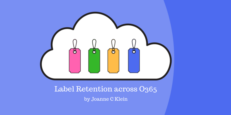 Retention labels across O365