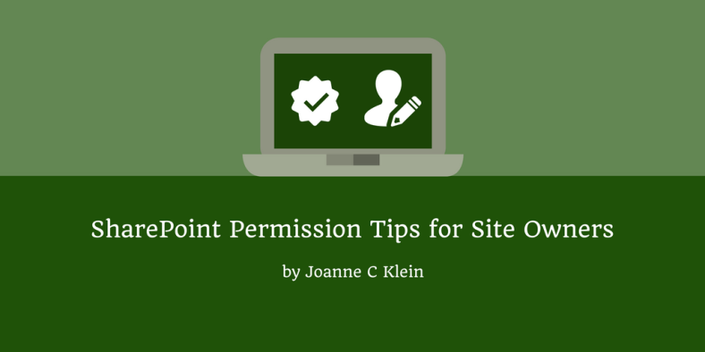 SharePoint Permission Tips